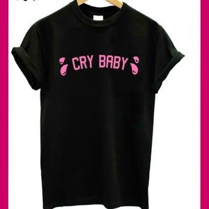 Tops - CRY BABY T-SHIRT